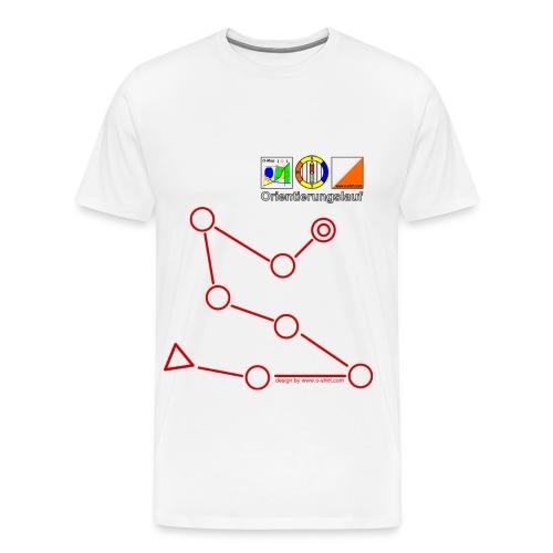oshirt postenkette - Männer Premium T-Shirt