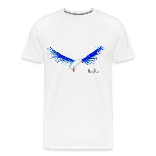 Möwe fertig klein gif - Männer Premium T-Shirt