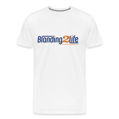 Branding2Life Logo - Men's Premium T-Shirt