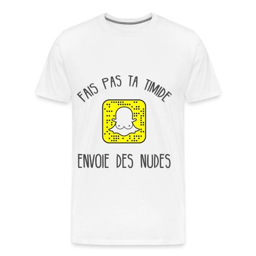 Send nudes - T-shirt Premium Homme
