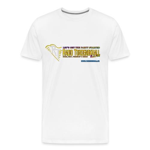 partystarted tordenskrall png - Premium T-skjorte for menn