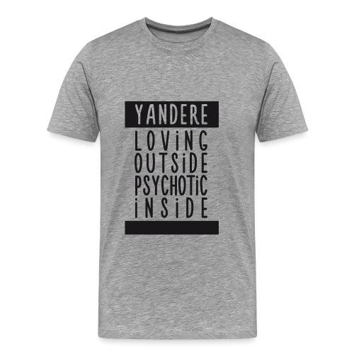 Yandere manga - Men's Premium T-Shirt