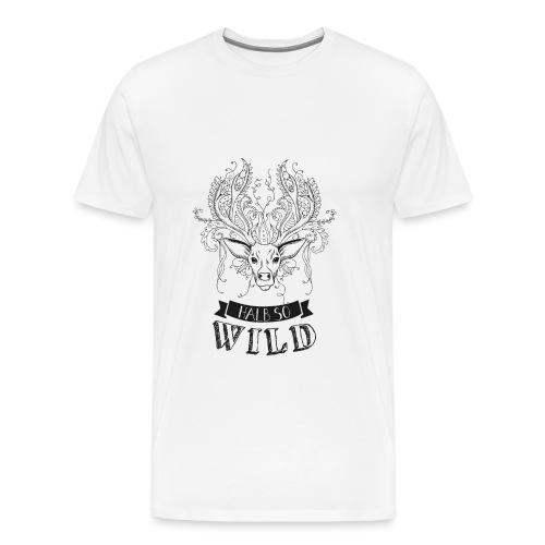 AAV Halb so wild - Männer Premium T-Shirt