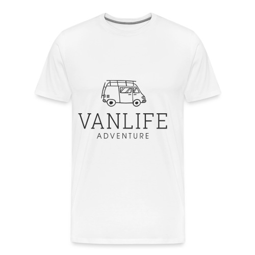 vanlife-adventure-square- - Men's Premium T-Shirt