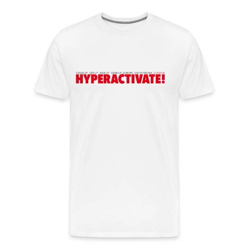 Hyperactivate - Premium-T-shirt herr