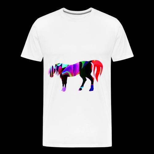 Cavalo triste - T-shirt Premium Homme
