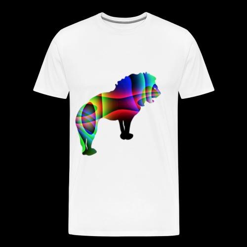 der Löwe hat die Stärke - T-shirt Premium Homme