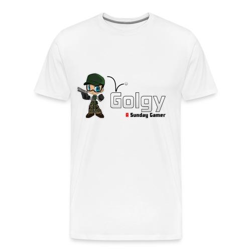 Logo Golgy 2018 V1 - T-shirt Premium Homme