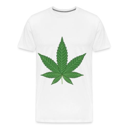 cannabisblatt - Männer Premium T-Shirt