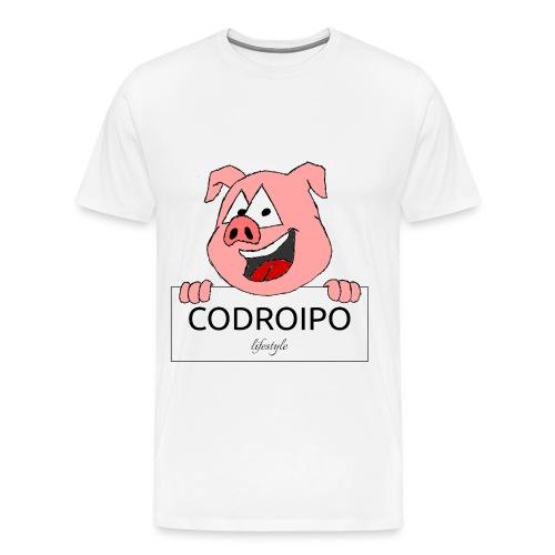 codroipo logo colori - Maglietta Premium da uomo