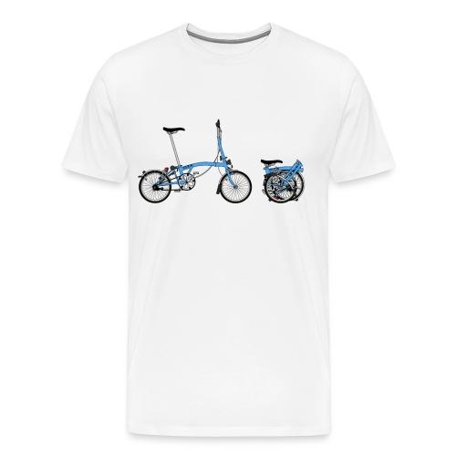 Brompton Bike - Men's Premium T-Shirt