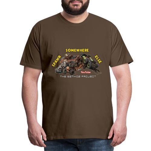 Spawn Somewhere Else ! - Men's Premium T-Shirt