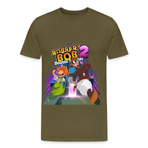 Robbery Bob and Cassie - Men's Premium T-Shirt