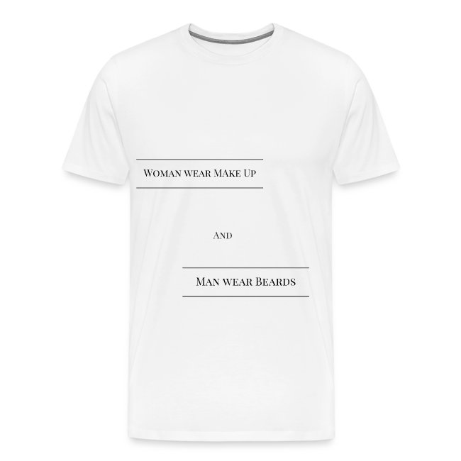 T-Shirt für Mann und Frau