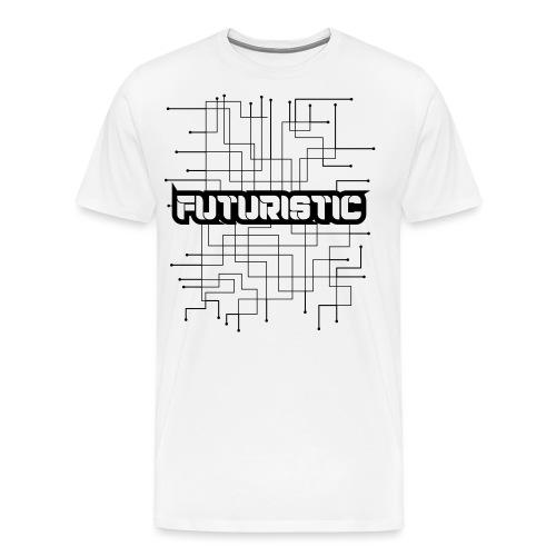 Futuristic - Mannen Premium T-shirt