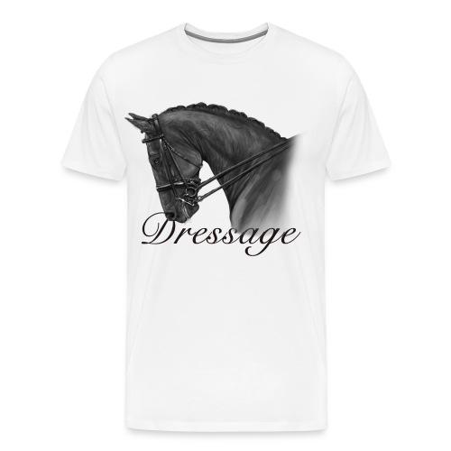 Dressage Horse Mug - Men's Premium T-Shirt