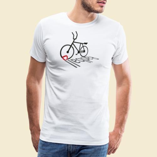 Radball | Shadow - Männer Premium T-Shirt