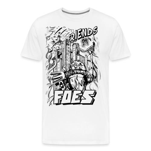 FRIENDS or FOES - Maglietta Premium da uomo