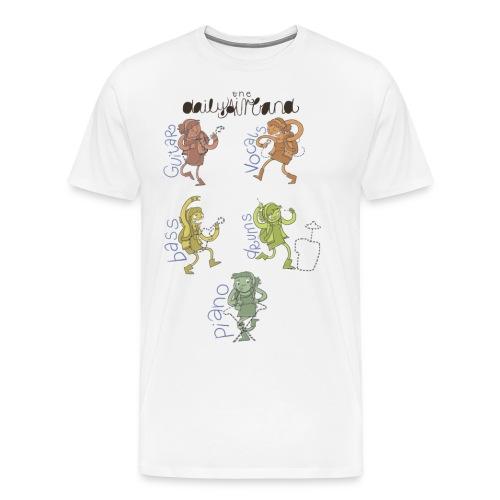 Luftmusik - Männer Premium T-Shirt