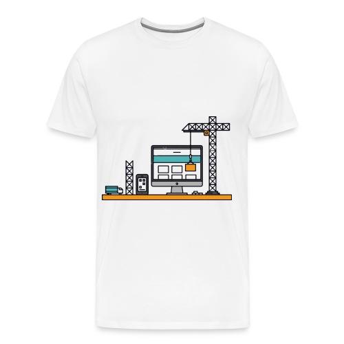 contentService - Männer Premium T-Shirt
