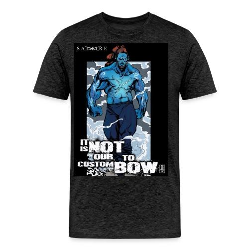Saltire Annihilation indyref5 jpg - Men's Premium T-Shirt