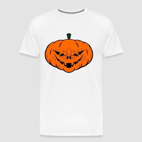 Evil Halloween Pumpkin - Men's Premium T-Shirt