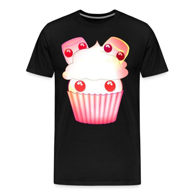 harajuku kawaii cupcake muffins med marshmallows