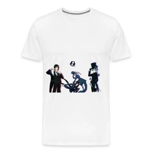 Black-Butler - Männer Premium T-Shirt