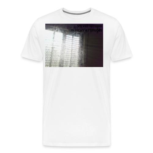 SYLVER SECOND - GLITCHY A - Männer Premium T-Shirt