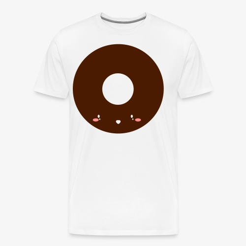 Happy Doughnut - Men's Premium T-Shirt