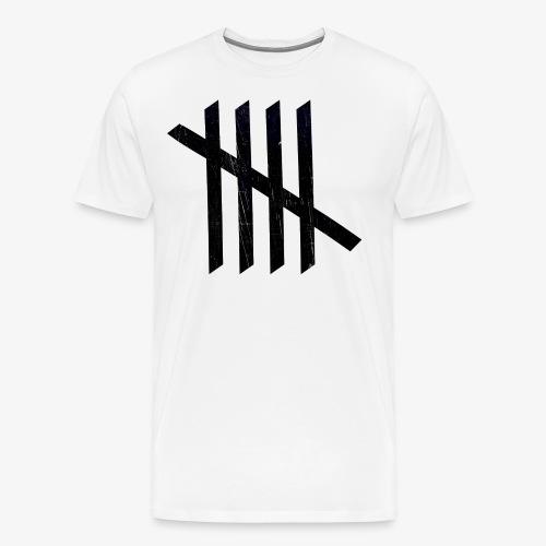 Nice logo - Herre premium T-shirt