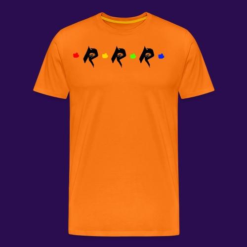 RRR - rainbow. - Männer Premium T-Shirt