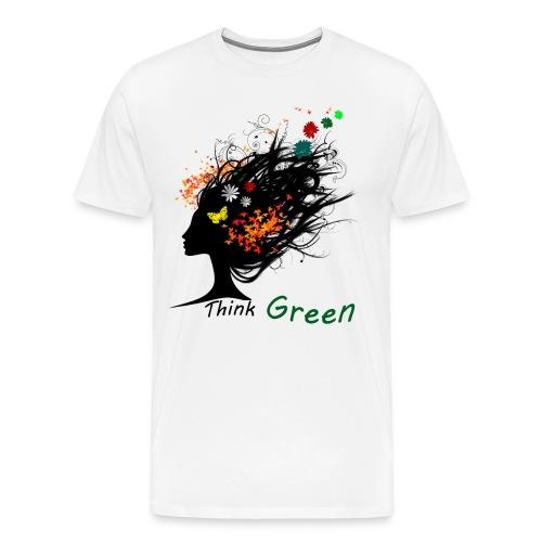 think_green - Maglietta Premium da uomo
