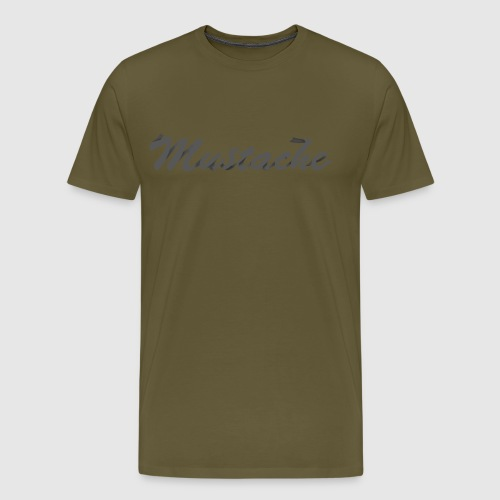 Black Lettering - Men's Premium T-Shirt