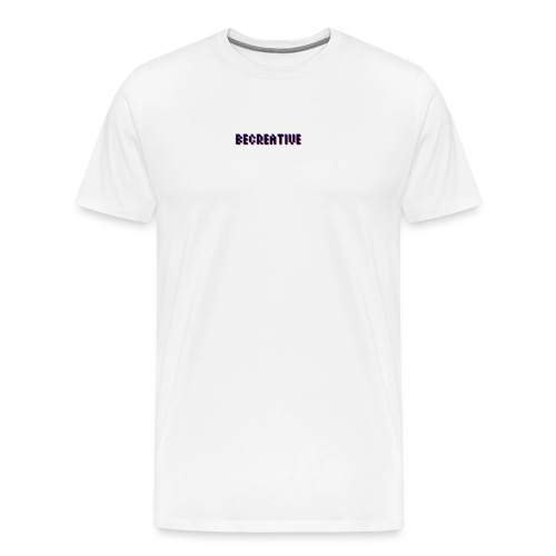 Be Creative! - Mannen Premium T-shirt