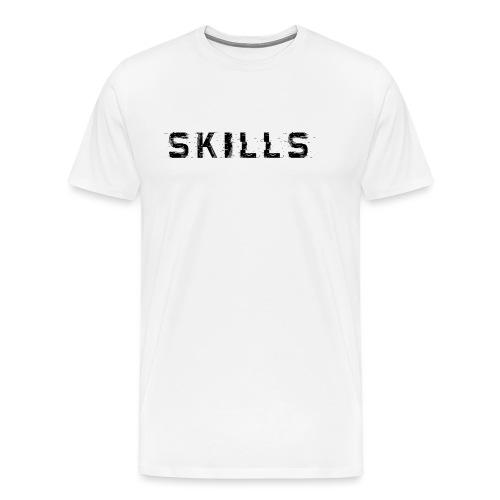 skills cloth - Maglietta Premium da uomo