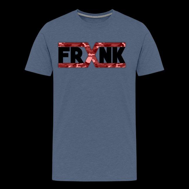 Red Camo 'FRXNK' Logo