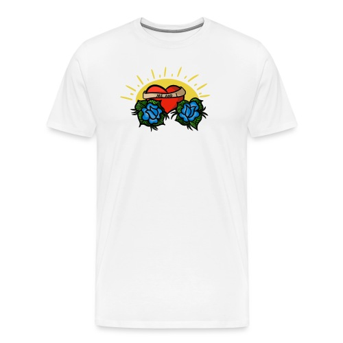 me and i - Premium-T-shirt herr