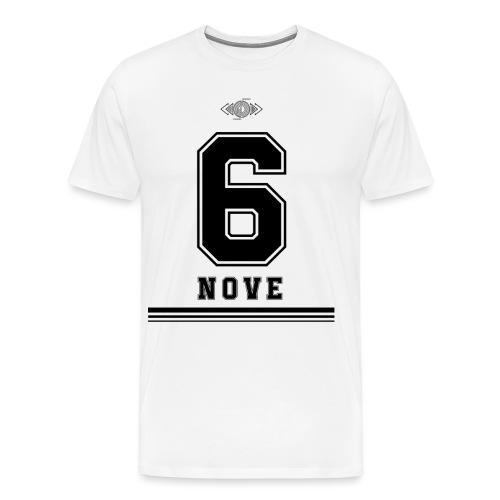 6 NERO - Maglietta Premium da uomo