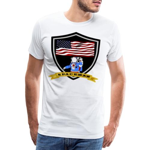 Spaceman Design - Männer Premium T-Shirt