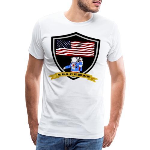 Spaceman Design - Männer Premium T-Shirt