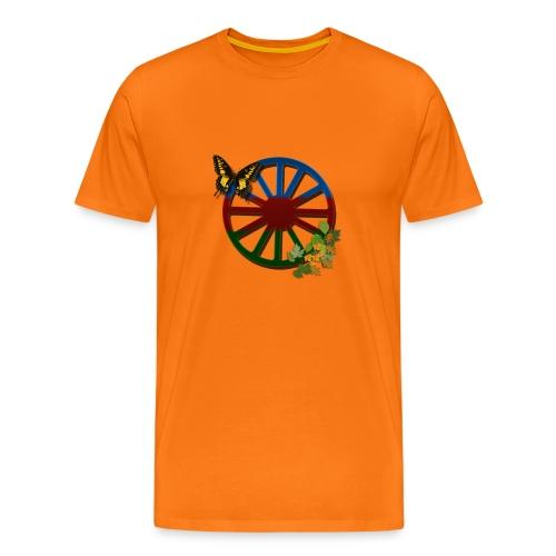 626878 2406576 lennyromanodromflagaloev orig - Premium-T-shirt herr