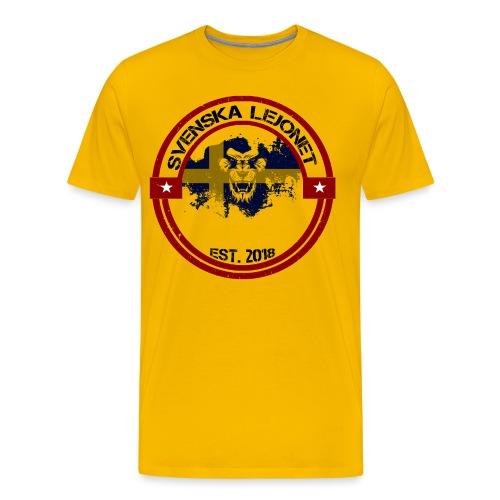 Svenska Lejonet EST 2018 - Premium-T-shirt herr
