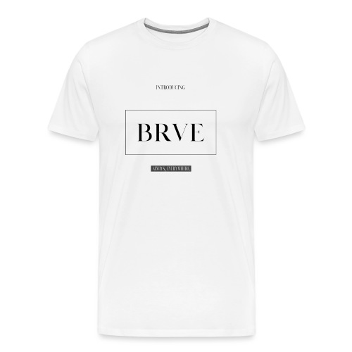 BRVE Introduced - Mannen Premium T-shirt