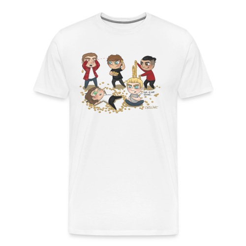 loose change full res transparent png - Men's Premium T-Shirt