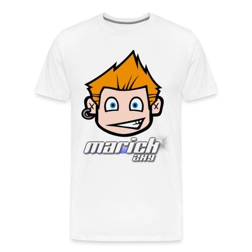 Marick2k9 Kopf - Männer Premium T-Shirt