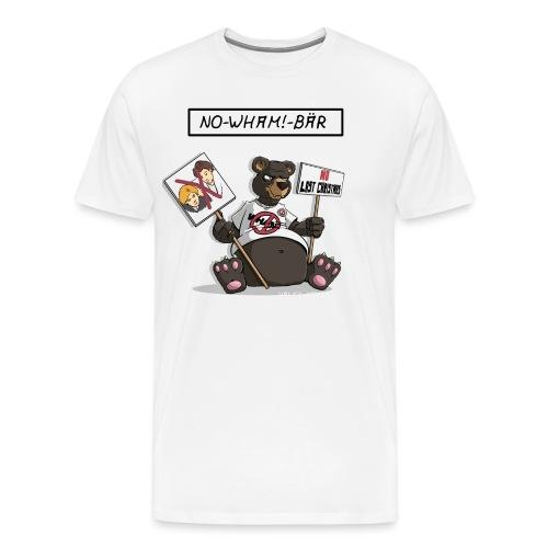 no wham bär - Männer Premium T-Shirt