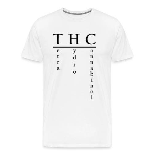 THC-Tetrahydrocannabinol - Männer Premium T-Shirt