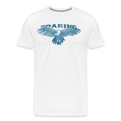 Soaring Vulture - Men's Premium T-Shirt