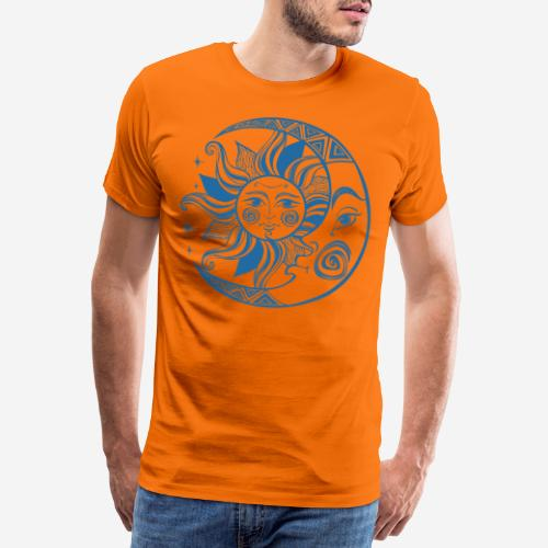 Sonnenmond Astrologie - Männer Premium T-Shirt